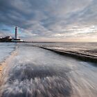 St. Mary's Lighthouse by Allan  England
