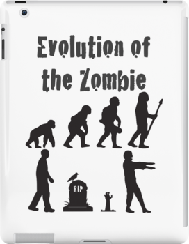 Evolution Of the Zombie Funny T Shirt by its-mr-towel