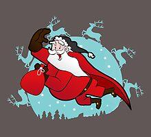 I Love Santa by SPORG Studio