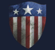world war 2_Captain america shield by morigirl