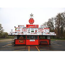 Ardy and Ed's Drive-In Photographic Print
