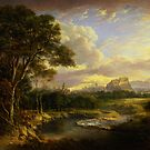 Alexander Nasmyth View of the City of Edinburgh by Adam Asar