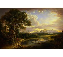 Alexander Nasmyth View of the City of Edinburgh Photographic Print