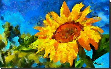 The Sunflower by DiNovici