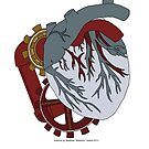 Clockwork Heart Case - Heavyhearted by Matimoo