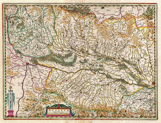 1644 Jansson Map of Alsace Basel and Strasbourg Geographicus AlsatiaSuperior jansson 1644 by Adam Asar
