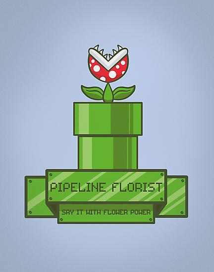 Pipeline Florist by fishbiscuit