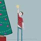 Christmas tree boy by Kate Kingsmill