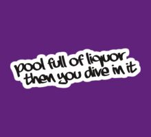 Pool full of Liquor by Yohann Paranavitana