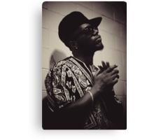 Killa Dan The Rapper Canvas Print
