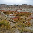 Badlands National Park, South Dakota 6 by Margaret  Hyde