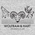 Wolfram &amp; Hart: Attorneys at Law by apachechief