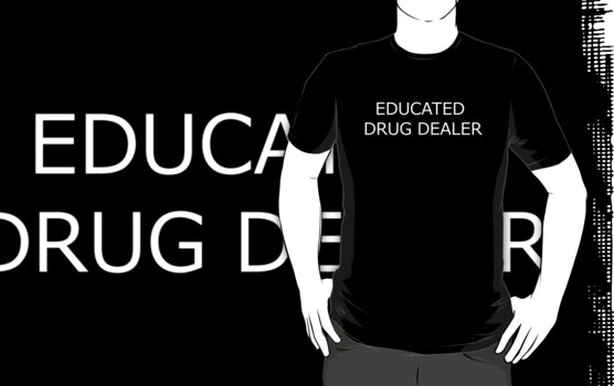 Educated Drug Dealer by squidyes