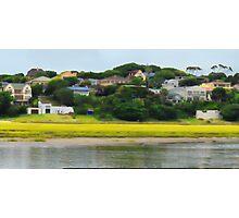 Digi Painted River Living Scene Photographic Print