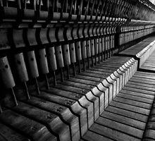 Silent Piano Keys by John Dunbar