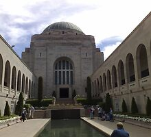 War Memorial, Canberra, Australia. by TJSphoto