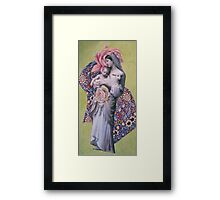 Mary Christmas Framed Print