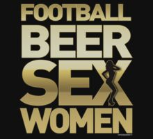 Football Beer Sex Women by viperbarratt