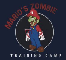 Mario's Zombie Training Camp by SEOTees