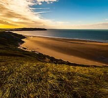 Llangennith in Autumn by Adam Carra