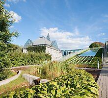 Warsaw University Library Garden by Artur Bogacki