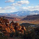 Fiery Furnace - Arches by David Clark