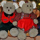 Christmas bears by Penny Rinker
