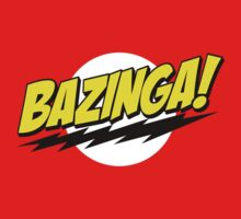 The Big Bang Theory - Bazinga - Sheldon Cooper by CalumCJL