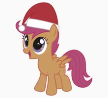 Santa Hat Scootaloo by IvanSpaceBiker