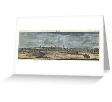 1698 de Bruijin View of Rama Israel (Palestine Holy Land) Geographicus Rama bruijn 1698 Greeting Card