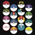 Pokeballs Galore by CarlyRC13
