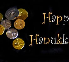 Happy Hanukkah with Chocolate Gelt! by heatherfriedman