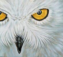 Snow Owl - Schnee-Eule by Nicole Zeug