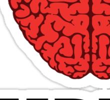 I Shotgun Zombies/ I Heart Zombies  Sticker