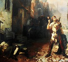 Belgian  Ferdinand Pauwels The plague in Ypres by Adam Asar