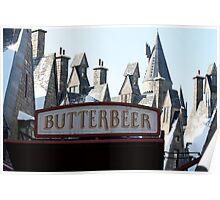 Butterbeer in Hogsmeade Poster