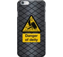 Danger of Deity iPhone Case/Skin