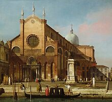 Canaletto  Venice The Campo SS. Giovanni e Paolo (1736 40) by Adam Asar