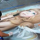 20th Anniversary Pasadena Chalk Festival by Karen Checca