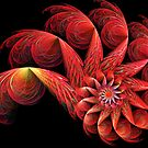 Spinning Flower by Sandy Keeton