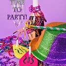 It's a Party New Year's invitation by campyphotos