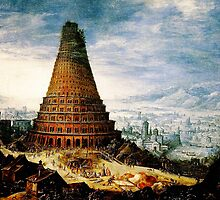 Flemish  The Tower of Babel  Baroque by Adam Asar