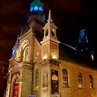 Notre-Dame de Bonsecours Chapel by Bekah Reist
