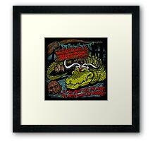 Mola Ram's Gator Wrestlin' School Framed Print