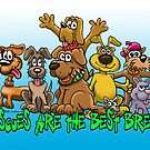 RESCUES ARE THE BEST BREED! by NHR CARTOONS .