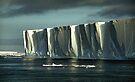 Tabular Iceberg Antarctica by Carole-Anne