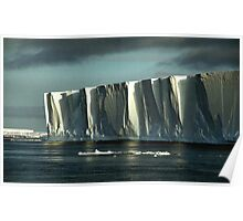 Tabular Iceberg Antarctica Poster