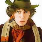 Tom Baker Portrait by drwhobubble