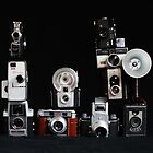 Vintage Camera Tower by BootsandTea
