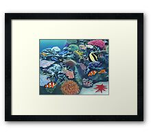The Hidden Garden Framed Print